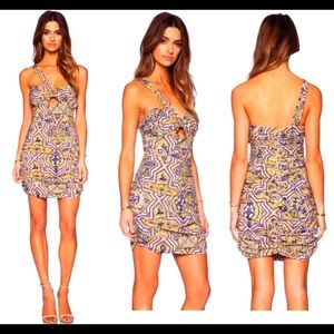 NWT Jetset Diaries Sun & Sand Tile Print Dress